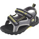 Viking Skumvaer Sandals Kids grey/lime
